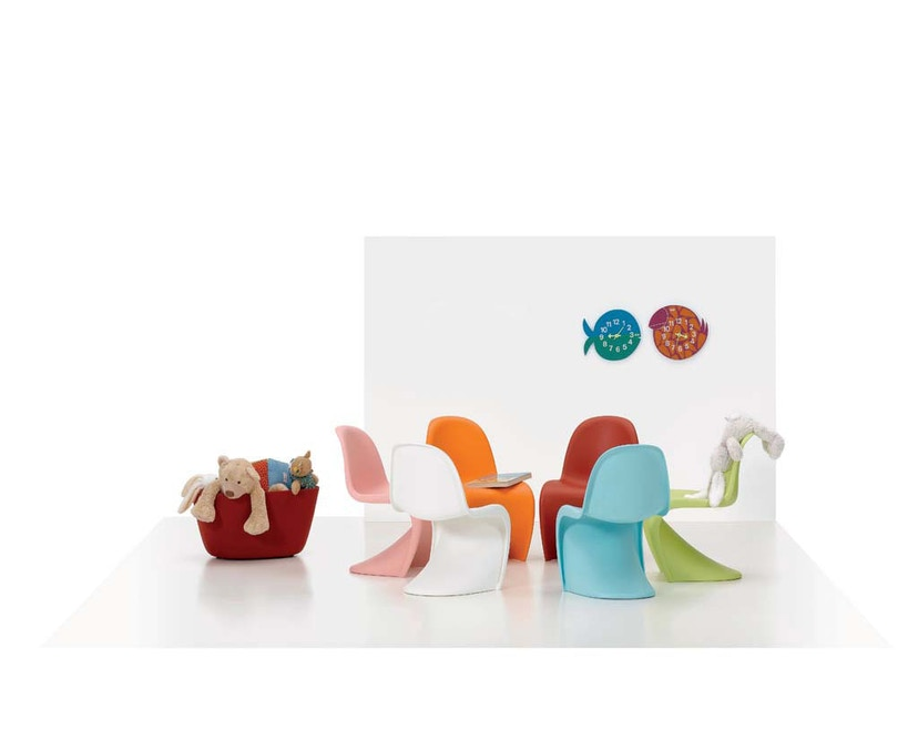 Vitra - Panton Chair Junior - dark lime - 6