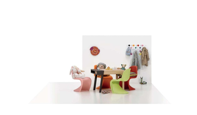 Vitra - Panton Chair Junior - dark lime - 8