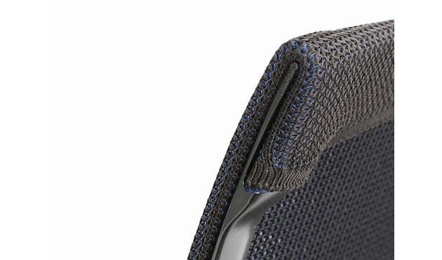 Vitra - Physix Bürodrehstuhl - RollehartTeppichboden-Aluminiumfuss beschichtet soft grey-01 silber-Rahmen 53soft grey - 12