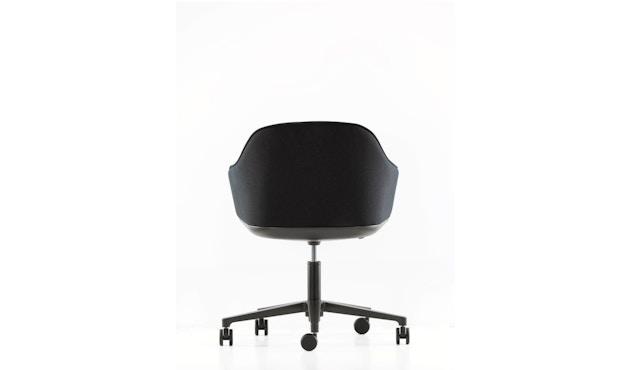 Vitra - Softshell Chair Fünfstern-Untergestell - schwarz, Plano nero - 4