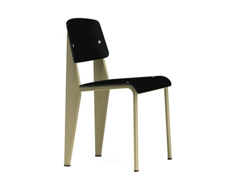 Vitra - Standard SP Stuhl - tiefschwarz - ecru - 1