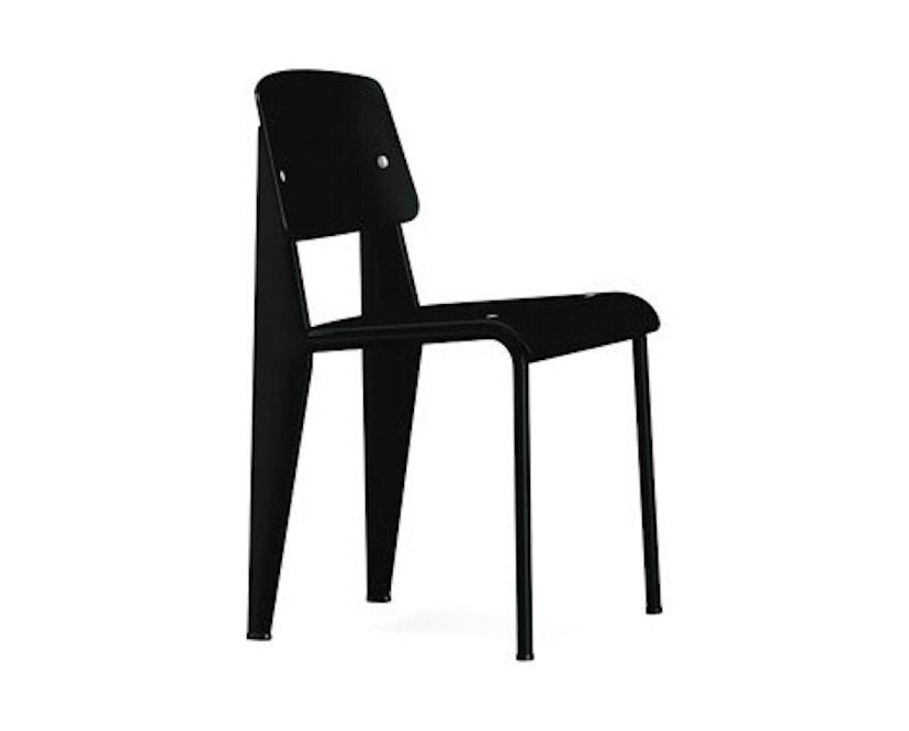 Vitra - Standard SP Stuhl - tiefschwarz - tiefschwarz - 1