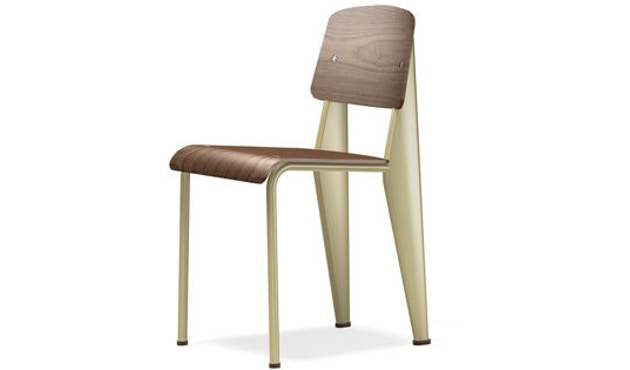 Vitra - Standard - Stuhl - Nussbaum/ecru - 1