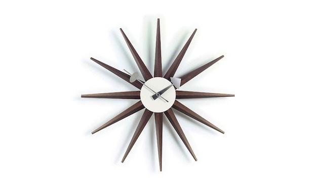 Vitra - Sunburst Clock - Nussbaum - 0