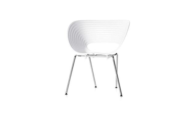 Vitra - Tom Vac - Stuhl - weiß - 1