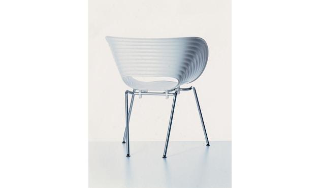 Vitra - Tom Vac - Stuhl - weiß - 3