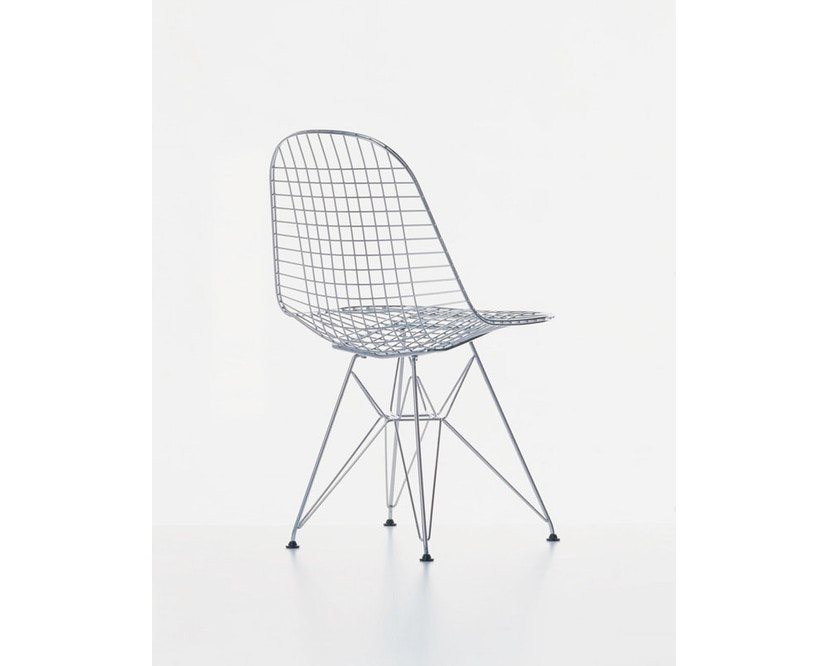 Vitra - Wire Chair DKR - verchroomd - 4