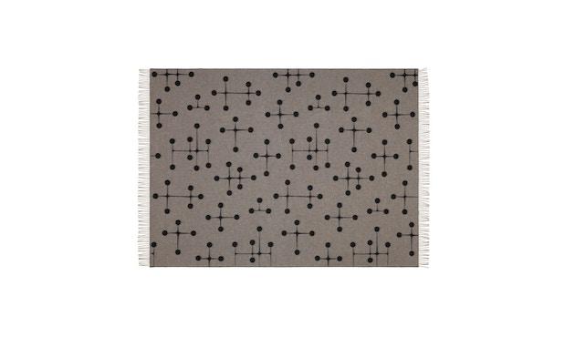Vitra - Eames wollen deken - Dot Pattern - zwart - 3