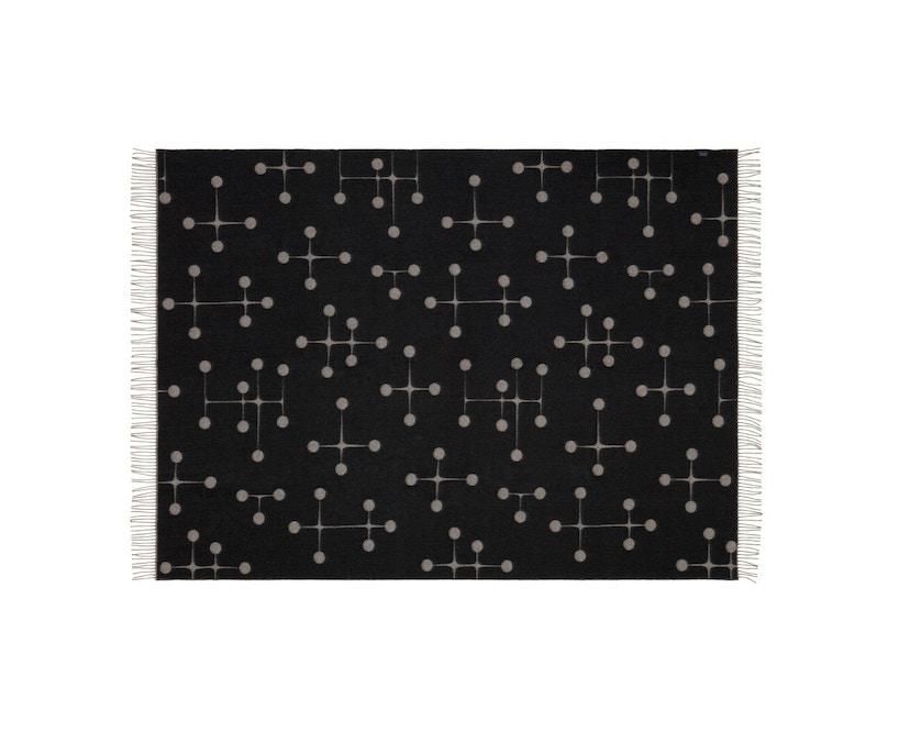 Vitra - Eames wollen deken - Dot Pattern - zwart - 4