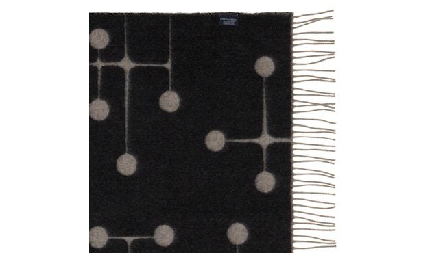 Vitra - Eames wollen deken - Dot Pattern - zwart - 5