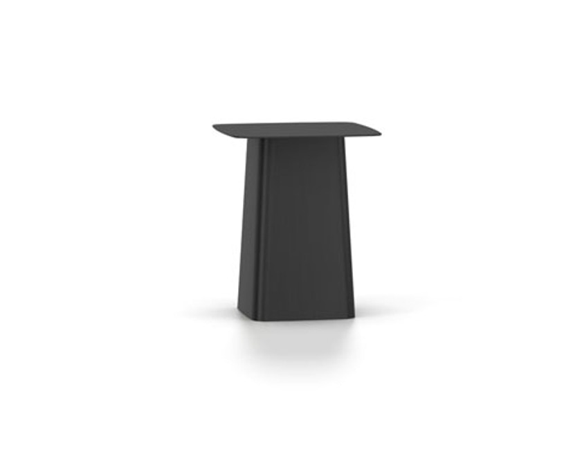 Vitra - Metal Side Table Outdoor - S - tiefschwarz - 1