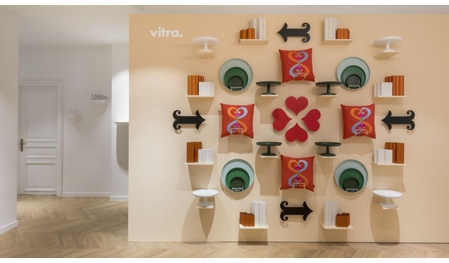 Vitra - High Tray - zwart - 3