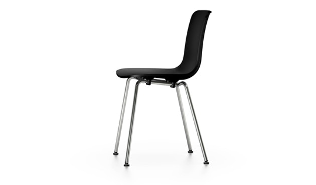 Vitra - Chaise HAL Tube - noir - chrome - 2