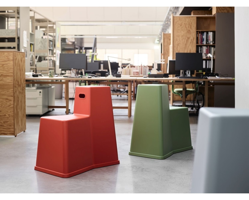 Vitra - Stool-Tool - poppy red - 15