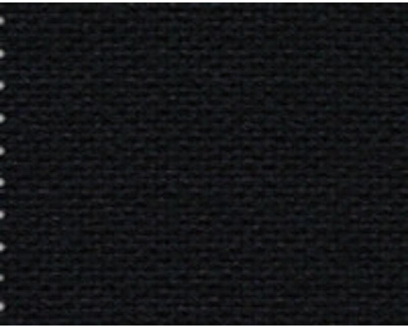 Vitra - DAR mit Sitzpolster - deep black - Bezug nero - Sitzhöhe 46 cm - 4