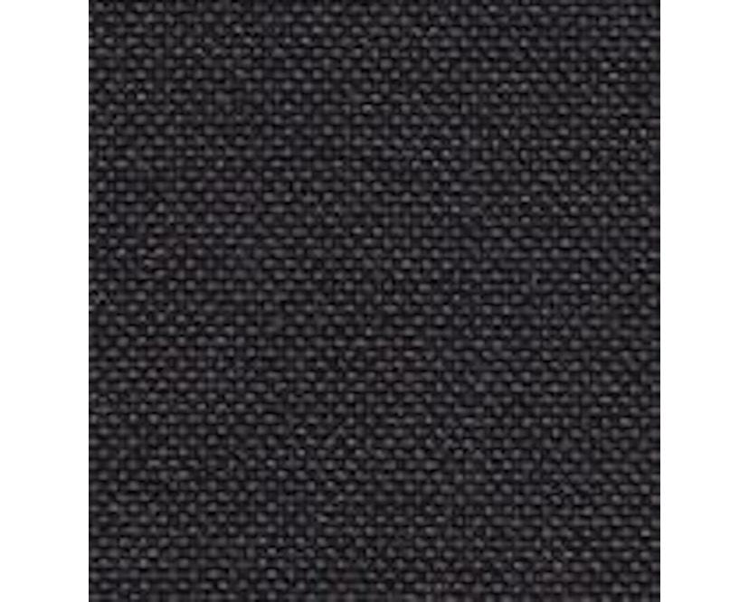 Vitra - Softshell Side Chair - Plano donkergrijs - zwart - Glijders voor harde bodems - Plano - 4