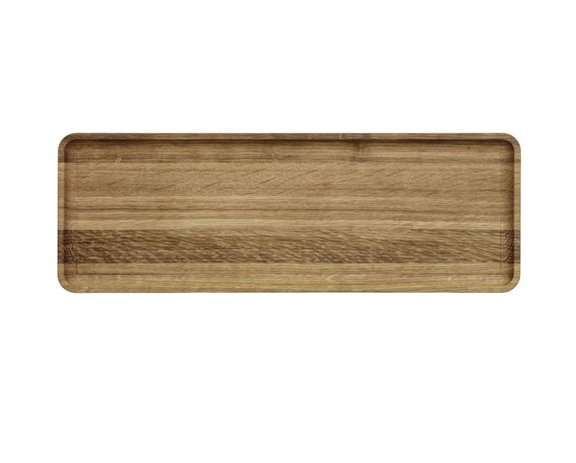 Iittala - Vitriini Tablett, 37,8x13,3cm - braun - 1