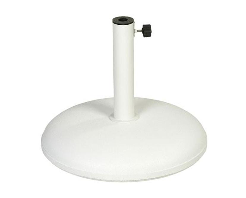 Vlaemynck - Parasolstandaard rond - wit - 1
