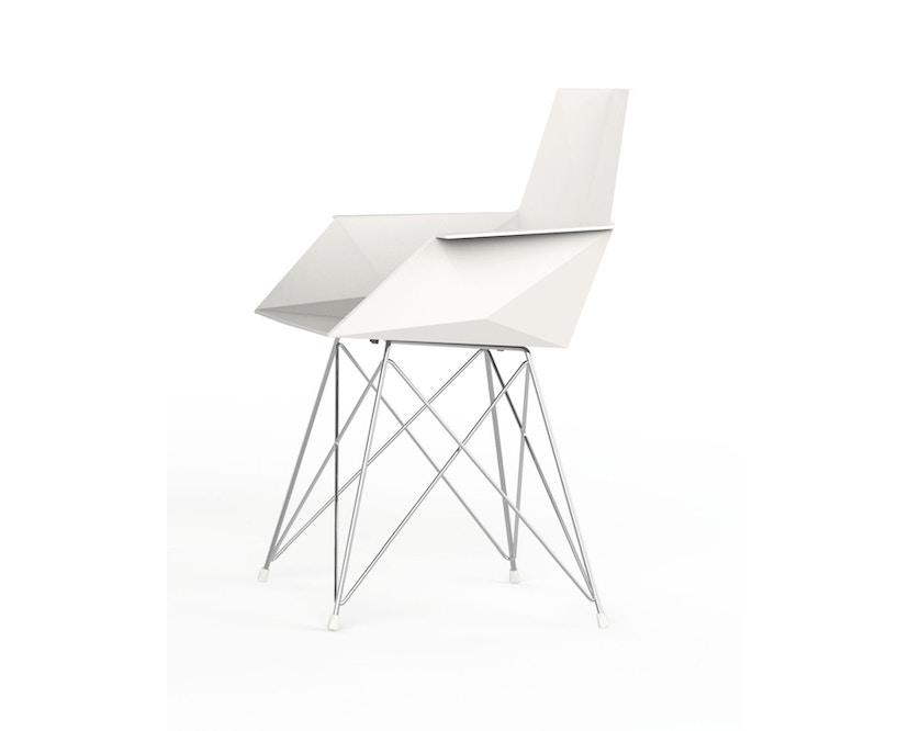 Vondom - FAZ Stuhl mit Armlehnen - 1