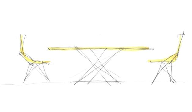 Vondom - FAZ Inox tafel - 2