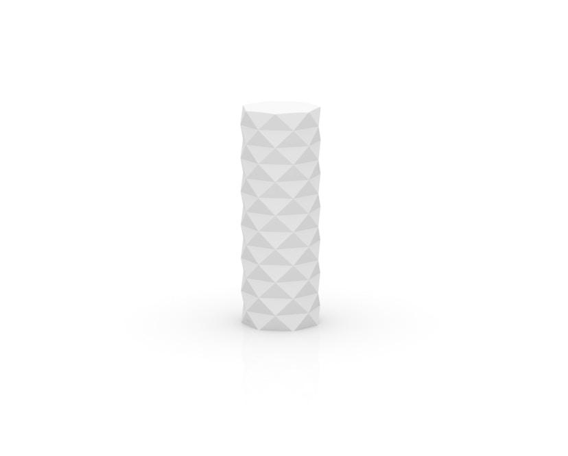 Vondom - MARQUIS Bodenleuchte - weiß - Ø 30 x 82 cm - weiße LED - 1