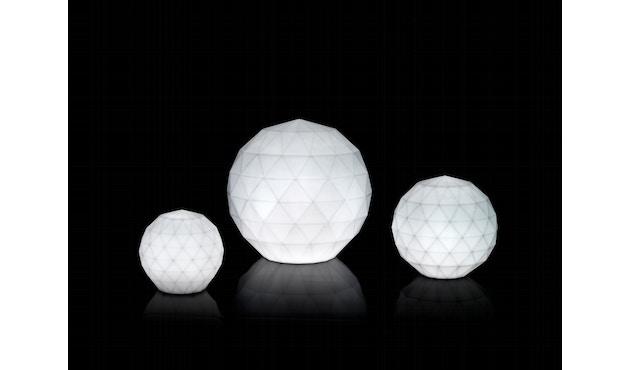 Vondom - VASES Bodenleuchte - weiß - Ø 30 cm - weiße LED - 3