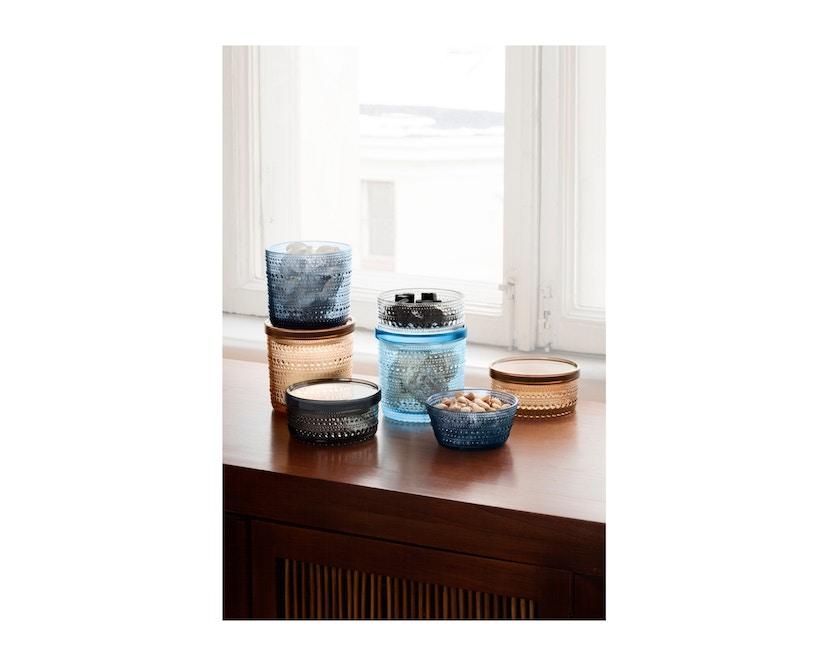 Iittala - Kastehelmi Dosen, 11,6x11,4cm - moosgrün - 2