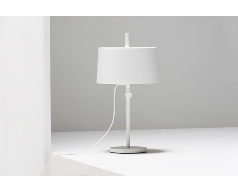 Wästberg - Nendo w132 tafellamp - cilinder - wit - 7