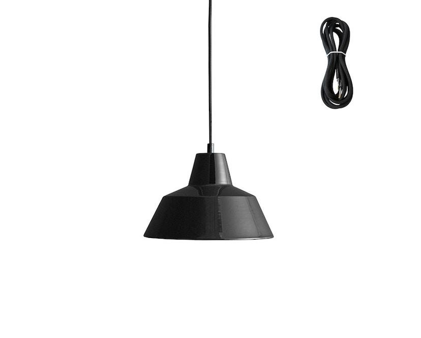 Made By Hand - Workshop 2 Hängeleuchte - shiny black - Kabelfarbe schwarz - Baldachin schwarz - 2