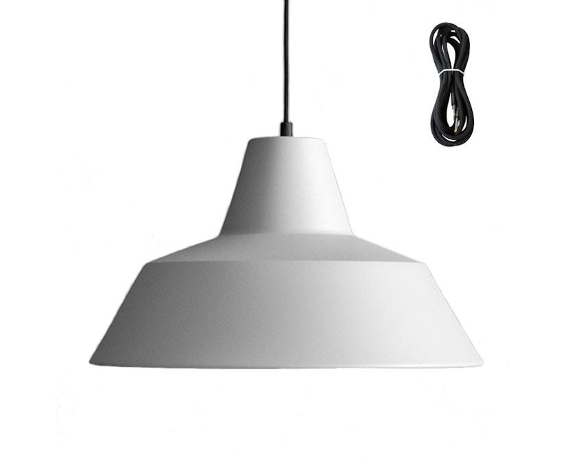 Made By Hand - Workshop 5 Hängeleuchte - grey - Kabelfarbe schwarz - Baldachin schwarz - 2
