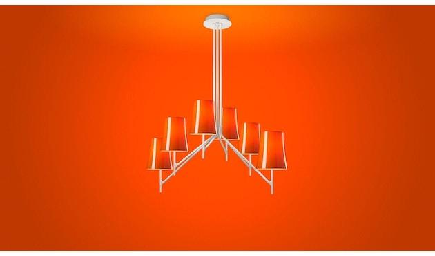 Foscarini - Birdie 9 Hanglamp - zonder touw - oranje - 1