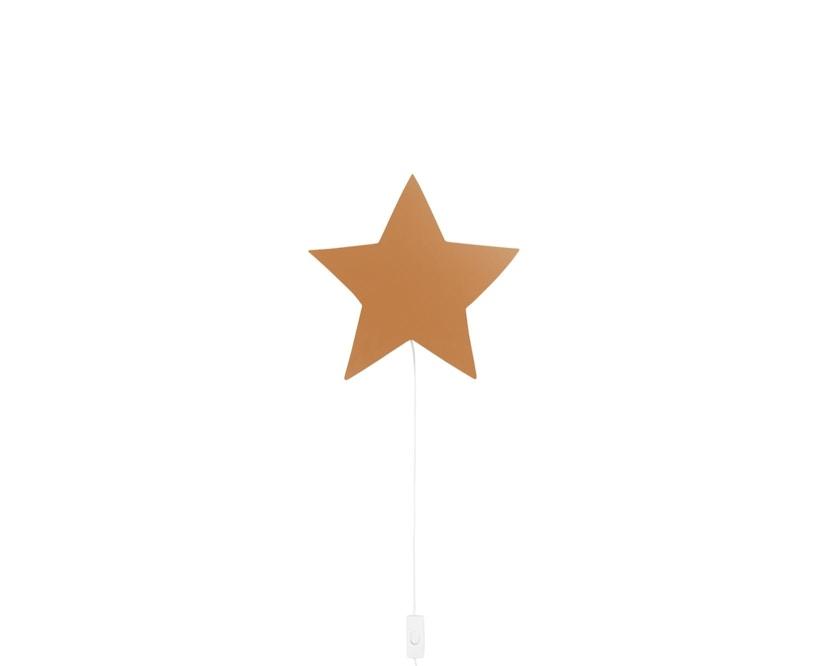 ferm LIVING - Sternen Wandleuchte - senfgelb - 1