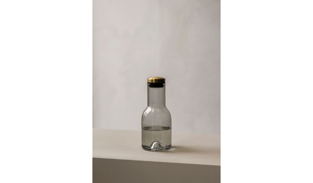 Menu - Glasflasche - Rauch/Messing - 0,5 l - 4