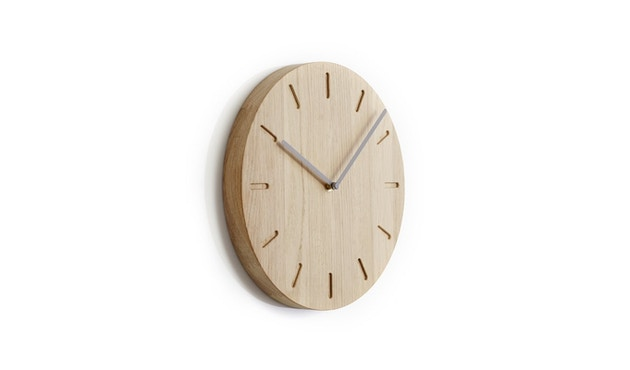 applicata - Watch:Out Wanduhr -  oak/grey - 0