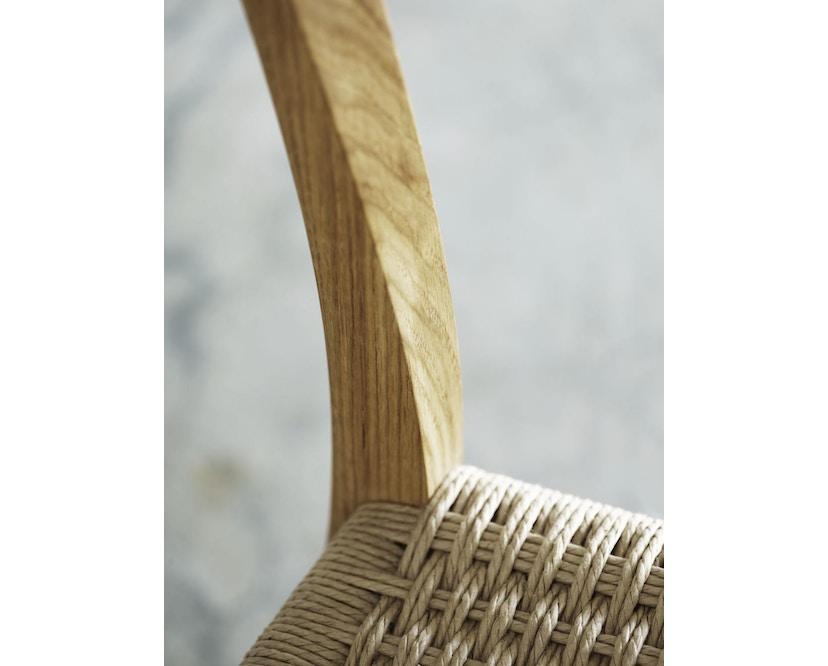 Carl Hansen - CH23 stoel - eiken gezeept - Vlecht natuur - 4