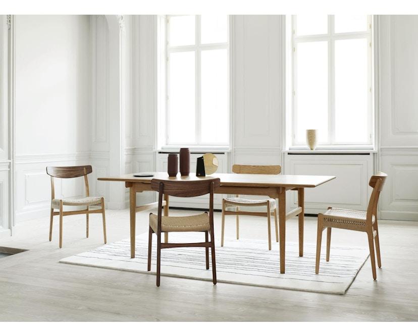Carl Hansen - CH23 stoel - eiken gezeept - Vlecht natuur - 7