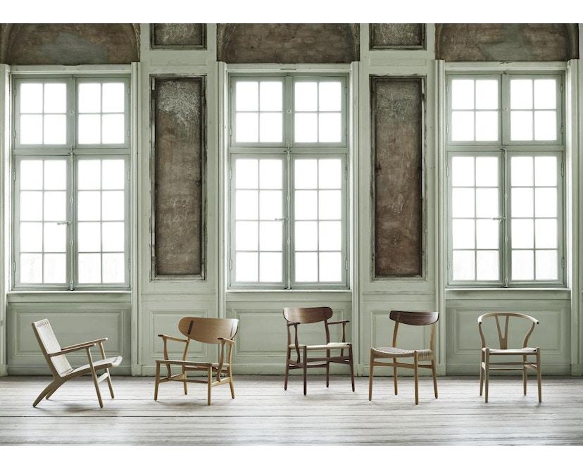 Carl Hansen - CH23 stoel - eiken gezeept - Vlecht natuur - 9