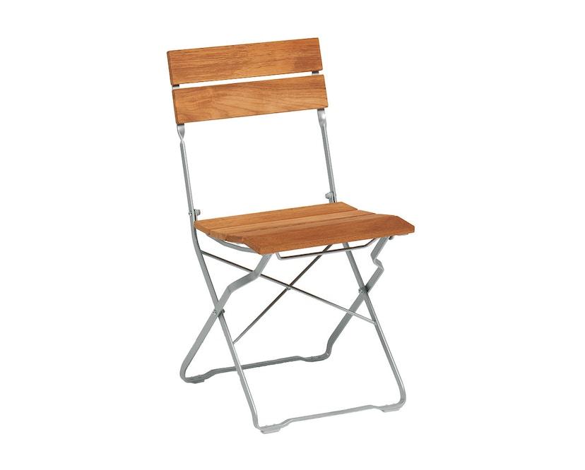 Weishäupl - Balance Stuhl - teak/weiß - 1