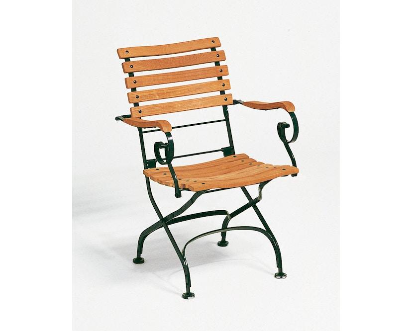 Weishäupl - Classic fauteuil curved. - donkergroen - 1