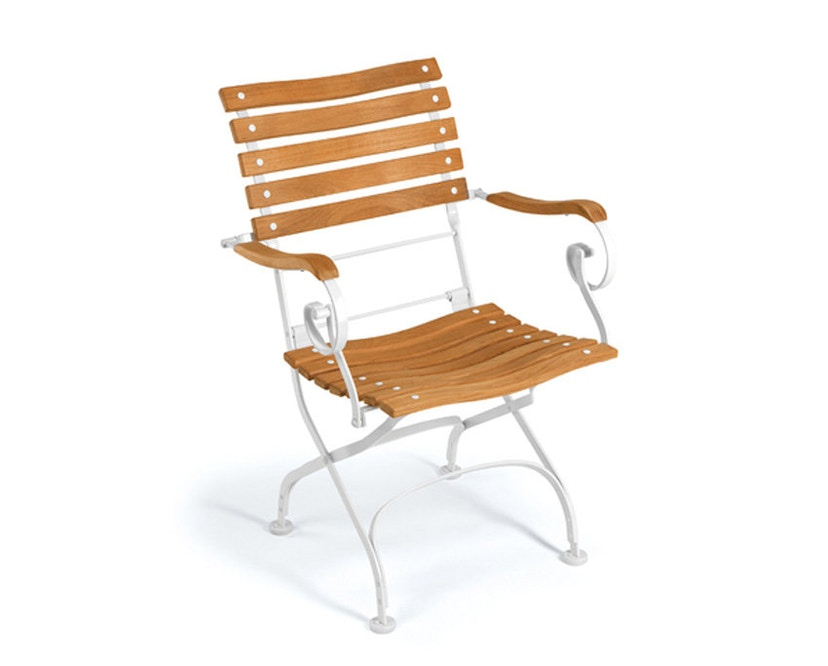 Weishäupl - Chaise Classic curved - blanc - 1