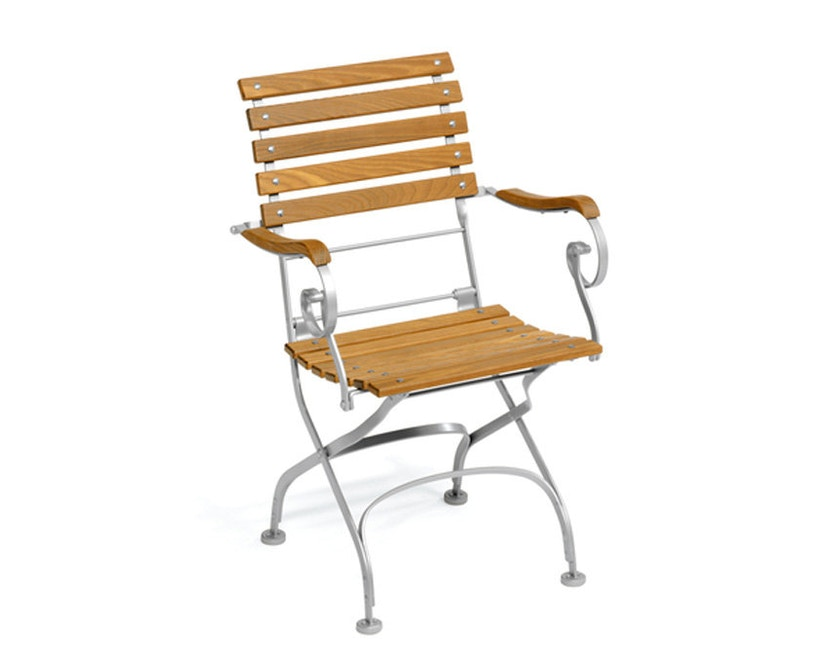 Weishäupl - Classic fauteuil straight - wit - 1