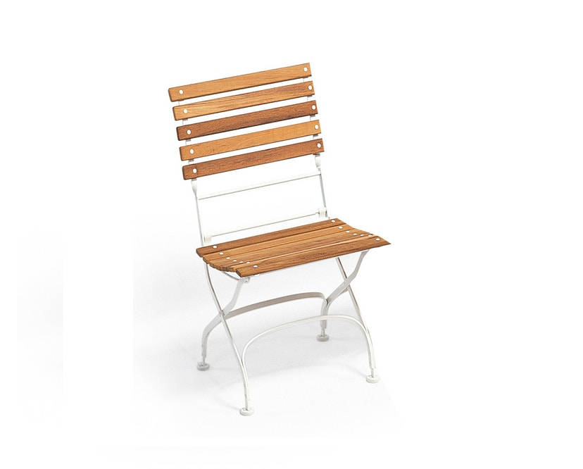 Weishäupl - Classic stoel straight - wit - 1