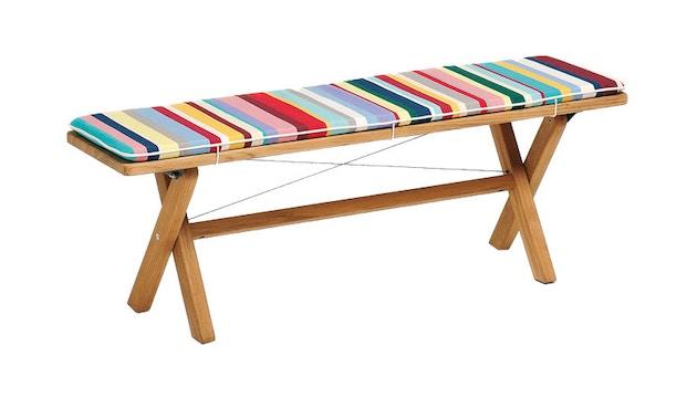 Weishäupl - Coussin rembourré Cross - Dolan multicolore - 140 x 80 cm - 1