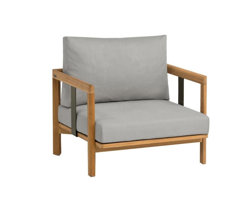 Weishäupl - Newport fauteuil - Acryl zand - wit - 1