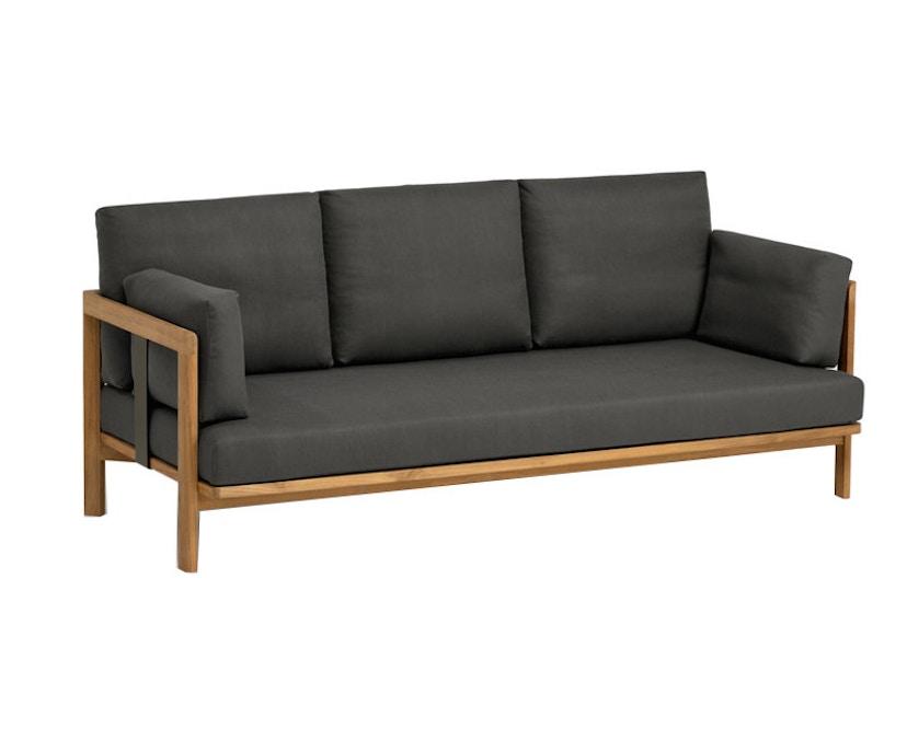 Weishäupl - New Hampton 3-Sitzer Sofa - Dolan spring - Gestell Edelstahl - 1