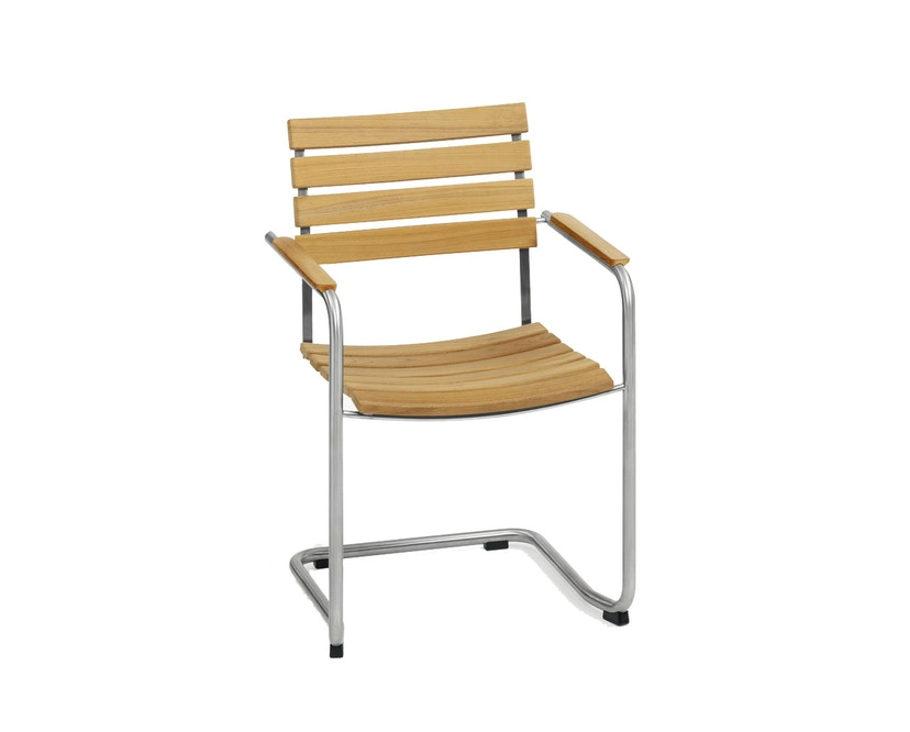 Weishäupl - Prato Sessel - Gestell Edelstahl - 1
