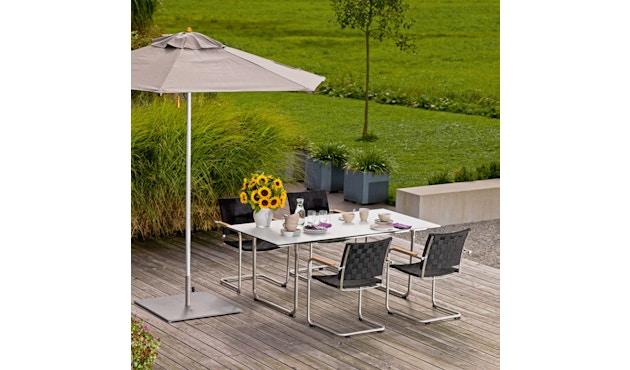 Weishäupl - Prato Tisch HPL - S - weiß - 3