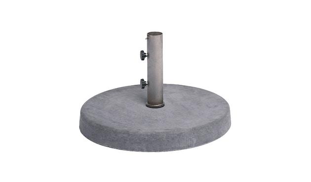 Weishäupl - Schirmständer Beton - 25 kg - Hülsen-Druchmesser 40 mm - 3