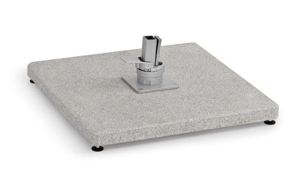 Weishäupl - Schirmständer Freiarmschirm - Granitplatte 125 kg - ohne Rollen - 1