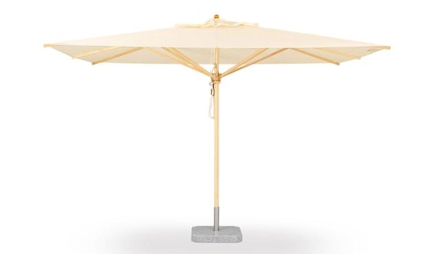 Weishäupl - Schirmständer Granit - quadratisch - 30 kg -Ø40 mm - geflammt - 3